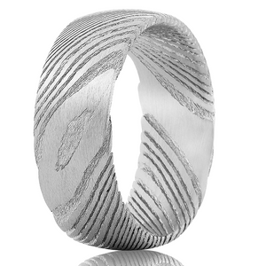 """Poseidon"" Natural Vein Ring"