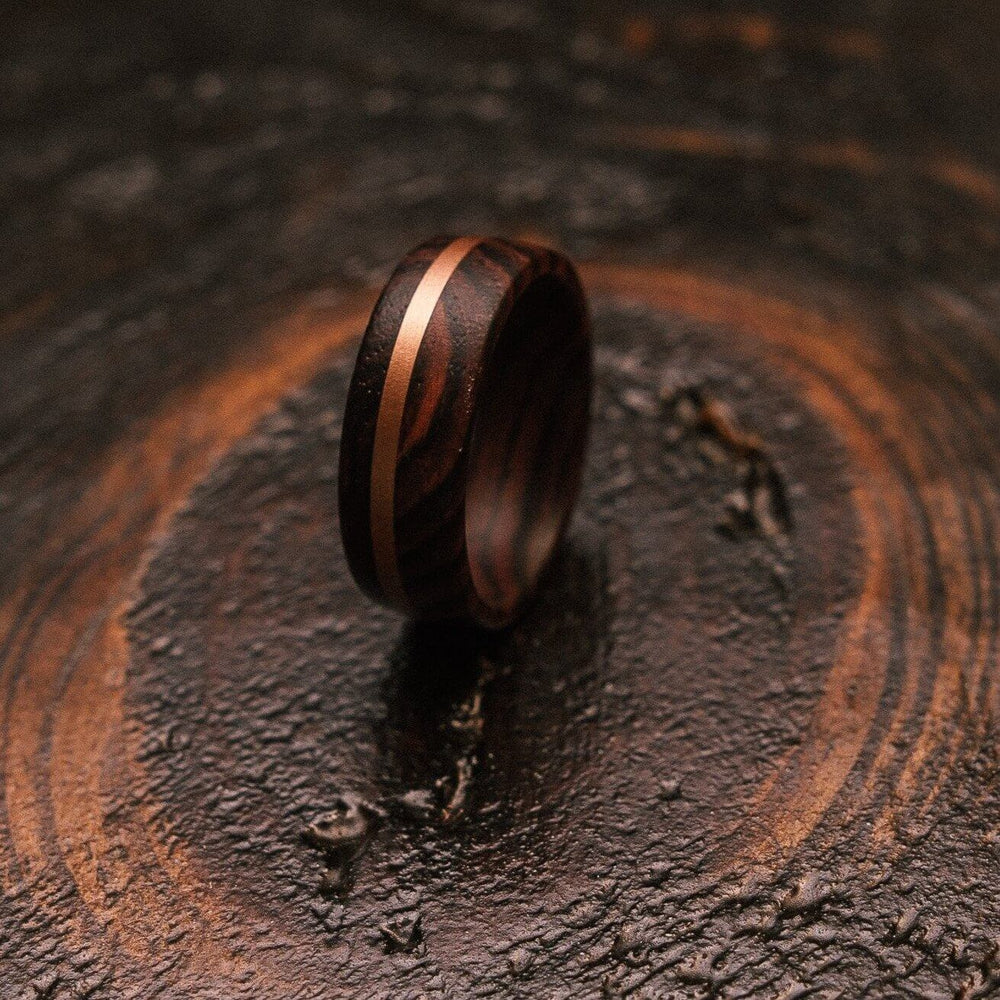 """Circe"" Snakewood X Copper Ring-Rings By Lux"