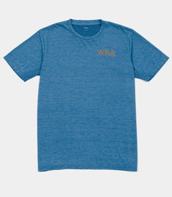 Team Logo Rapid Dry T-shirt - Blue