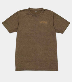 Team Logo Rapid Dry T-shirt - Khaki