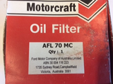 Ford Courier PE-PG-PH 2.5ltr Genuine oil filter new part