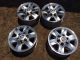 Holden Colorado genuine set of 4 alloy rims & centre caps