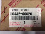 Toyota Prado 150 series genuine rear heater & A/C control auto New Part