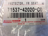 Toyota Kluger Genuine front right seat protector new part