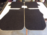 Land Rover Discovery 4 Genuine front & rear carpet mat set new part