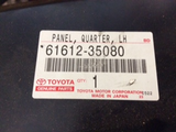 Toyota Hilux genuine left hand side memder quartor panel new