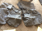USED Canvas seat covers Suitable for Nissan Navara D40 full set  Used VGC