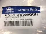 Hyundai Santa Fe Genuine rear door seal new part