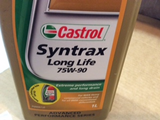Castrol Syntrax LongLife 75W-90 manual transmission oil 1LTR New Part