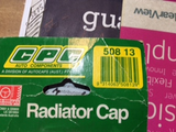 CPC Radiator cap new 508-13 see below for details New Part