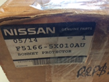 Nissan Navara D40 Genuine Clear Bonnet Protector New Part
