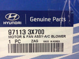 Hyundai I30 Genuine Motor & Fan Assy -AC Blower New Part