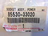 Toyota Various Models Genuine Power Point Socket New Part New Part