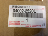Toyota Hiace Genuine Diesel Full Injector Replacement Kit New Part