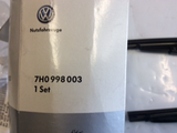 VW Amarok Genuine pair wiper blade replacement set new part