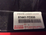 Toyota Camry /Aurion Genuine Cover Engine Under No1 New Part