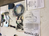 Toyota Kluger Genuine rear park assist 4 head complete kit new Part