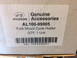 Hyundai Lockable roof mounted bike rack new part