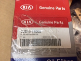 Kia Canival Genuine Oil Filter New Part