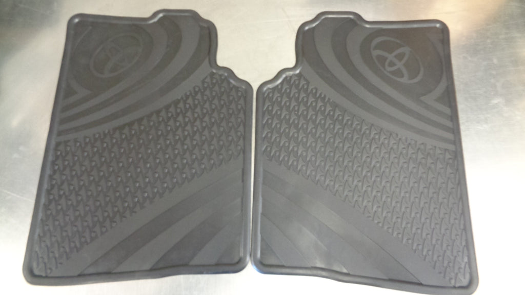 Toyota Corolla Hatch Genuine Rear Rubber Floor Mats New Part