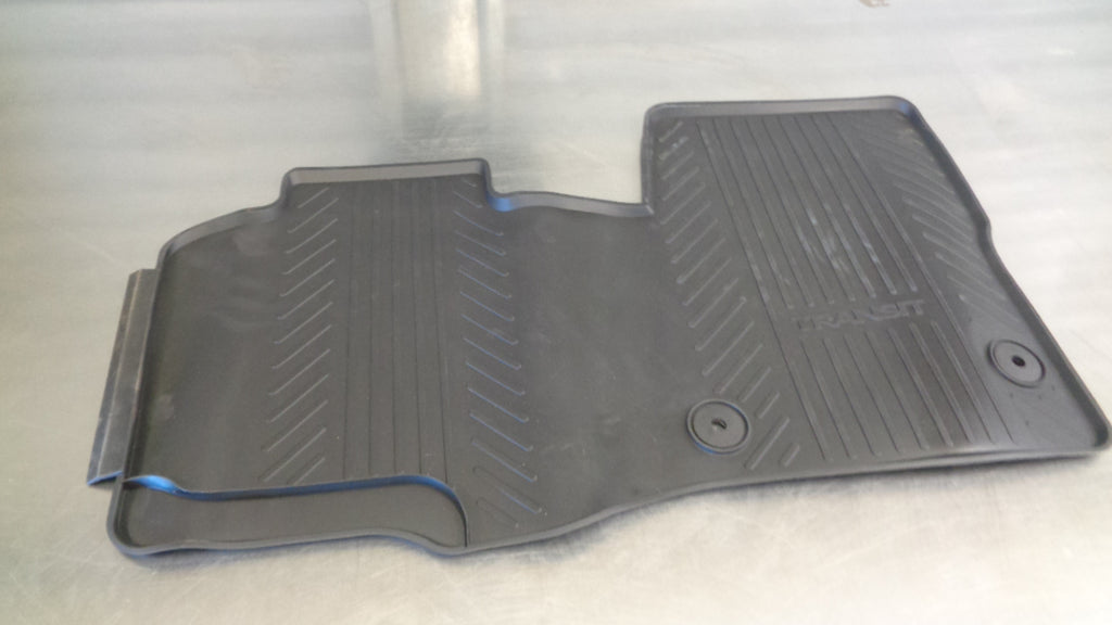 Ford Transit Front Rubber Floor Mat Set New Part