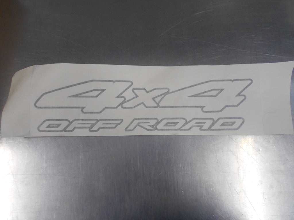 Nissan Navara Genuine 4X4 Offroad Side Decal New Part