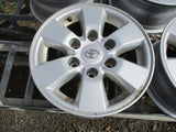 Toyota Hilux SR5 Genuine  Alloy Rims 15x7 Set 4 Used Part VGC With Caps & Wheel Nuts
