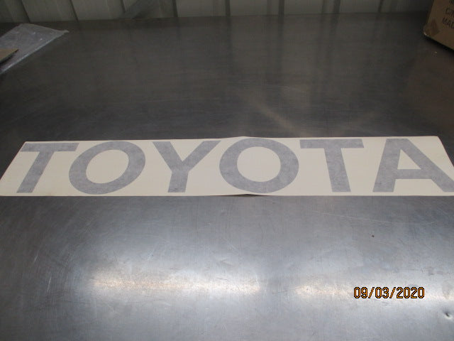 Toyota Hilux Genuine Tail Gate Decal Large New Part
