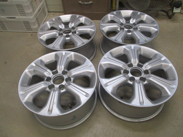 Nissan NP300 Genuine Alloy Rim Set of 4 Used Part VGC