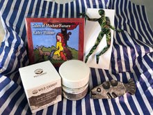 Load image into Gallery viewer, kathleen hunter, kathy hunter, kathy tales, wild carrot, andy body, a&k forge, val nesemann, magnetic figure, hand cream, fish sculpture