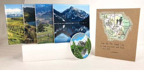Road Less Traveled Gift Box
