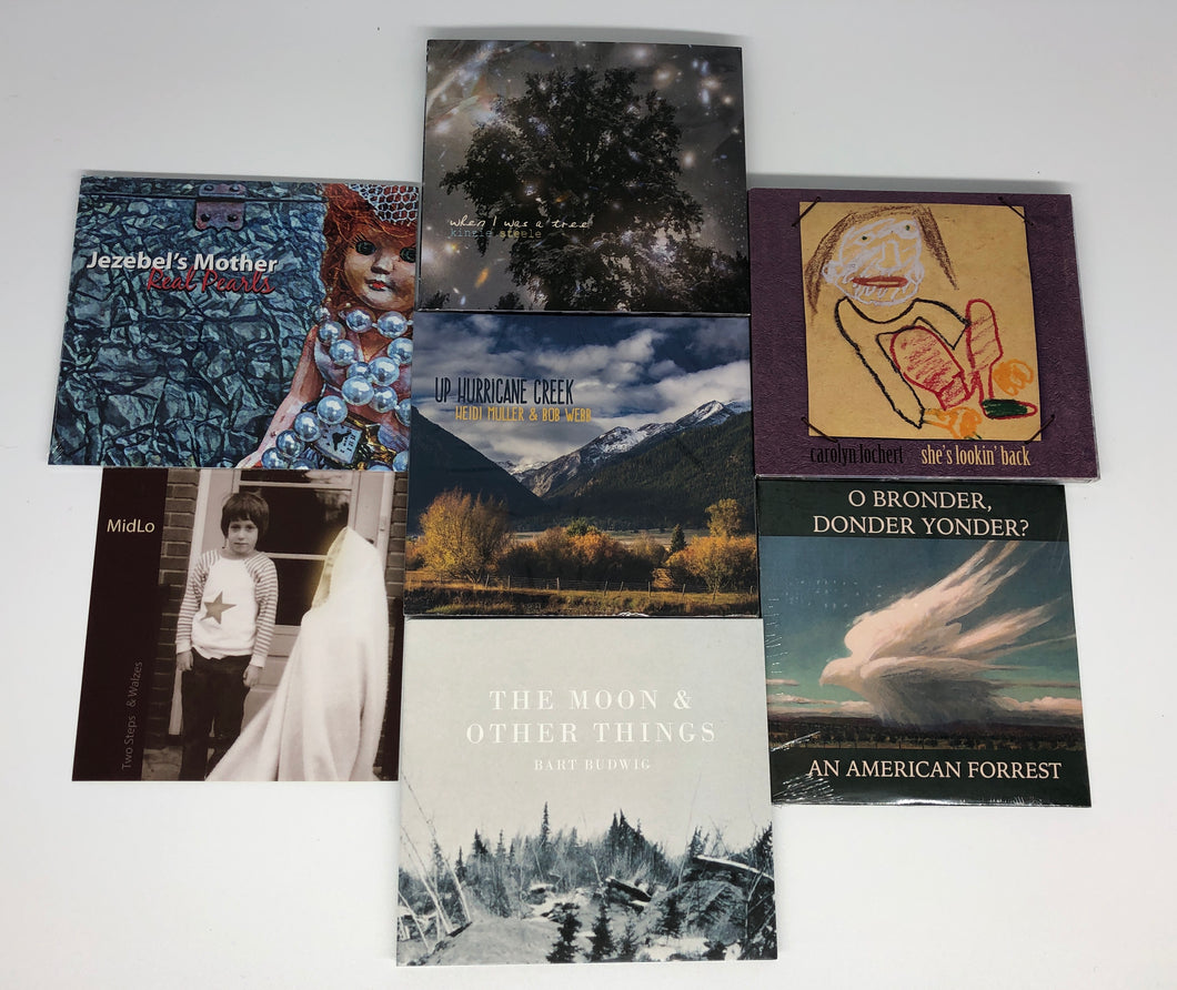 wallowa music, janis carper, bart budwig, seth kinzie, kinzie steele, american forest, midlo, heidi muller, jezebel mother