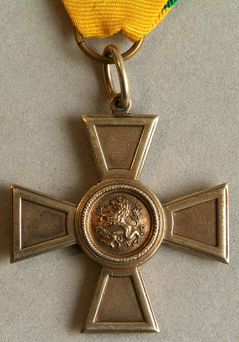 merit cross zahringer lion