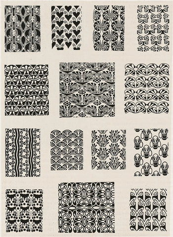 Paul Burck Patterns
