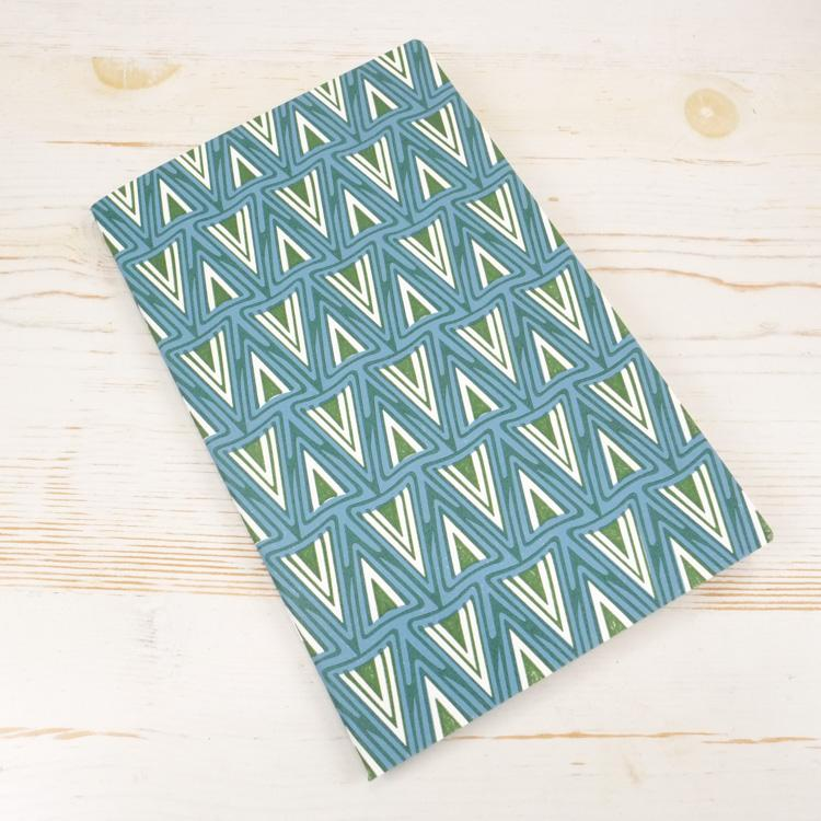 German Lancet Letterpress Notebook Block Printed Notebook Papillon Press