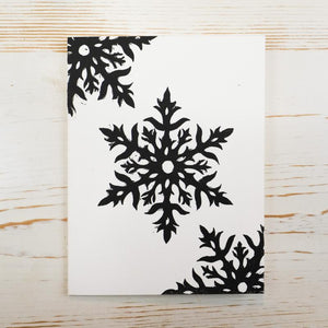 Snowflake and Ornament Card Box Set Holiday Card Papillon Press