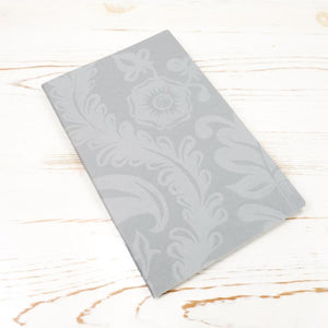 Limited Edition: Papillon Flora Letterpress Notebook Block Printed Notebook Papillon Press Stone