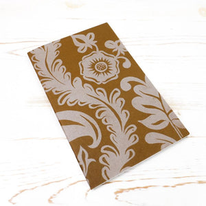 Limited Edition: Papillon Flora Letterpress Notebook Block Printed Notebook Papillon Press Nightengale