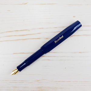 Kaweco Sport Fountain Pen Classic: Navy Kaweco Pen Papillon Press