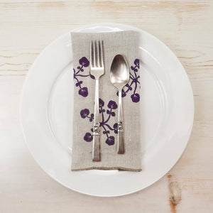 Papillon Seedling Linen Napkins Linen Napkins Papillon Press