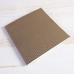 Mini Square Dotted Notebook: Set of 3
