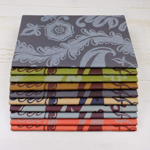 Block Printed Notebooks: Mystery Set of 3 Block Printed Notebook Papillon Press