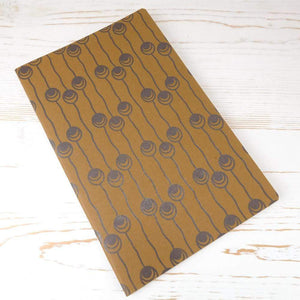 Dutch Pearls Block Printed Notebook Block Printed Notebook Papillon Press Nightingale No Label Lines
