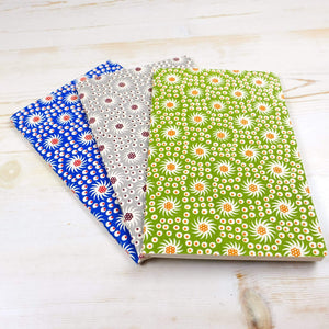 French Pinwheel Notebooks: Set of 3 Block Printed Notebook Papillon Press No Labels Grid