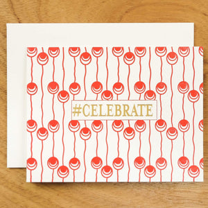 Dutch Pearl #HASHCARDS #HASHCARD Papillon Press #CELEBRATE Cherry