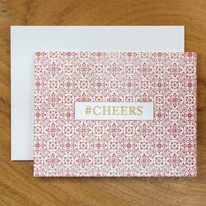 Dutch Ornamental #HASHCARDS #HASHCARD Papillon Press #CHEERS Cherry