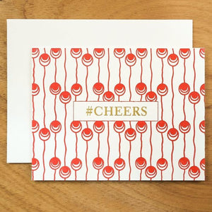 Dutch Pearl #HASHCARDS #HASHCARD Papillon Press #CHEERS Cherry