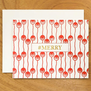 Dutch Pearl #HASHCARDS #HASHCARD Papillon Press #MERRY Cherry