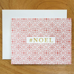 Dutch Ornamental #HASHCARDS #HASHCARD Papillon Press #NOEL Cherry