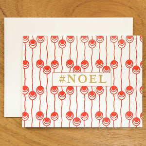Dutch Pearl #HASHCARDS #HASHCARD Papillon Press #NOEL Cherry